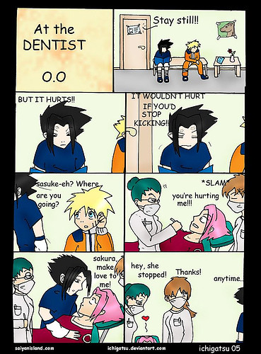 funny sasuke and sakura | Flickr - Photo Sharing!