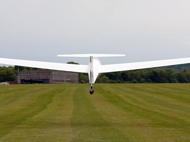 RAFGSA CGC K21 takes to the sky