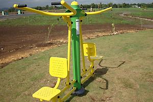 Gimnasio al aire libre m quina para ejercitar brazos y for Gimnasio 4 torres