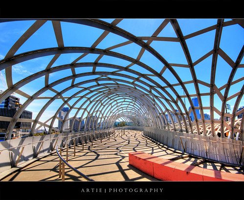 The Webb Bridge, Melbourne (III) :: HDR