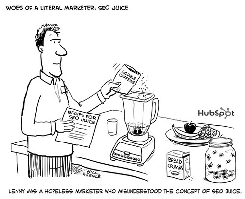 Woes of a Literal Marketer: SEO Juice