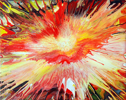Fluid Painting Explosion