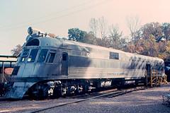 St. Louis - Original Burlington Zephyr Locomotive