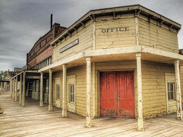 old west town true grit movie set flickr photo sharing