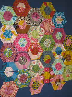 ORBC Hexagon Quiltalong -- WIP