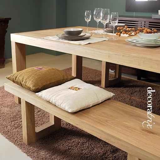 Bancos para la mesa del comedor flickr photo sharing - Bancas de madera para comedor ...