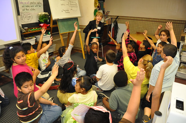 Lynn Community Reads Day (Harrington Elementary School): May 2010