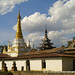 Local Buddhist Pagoda and Monastery - Inle Lake, Burma