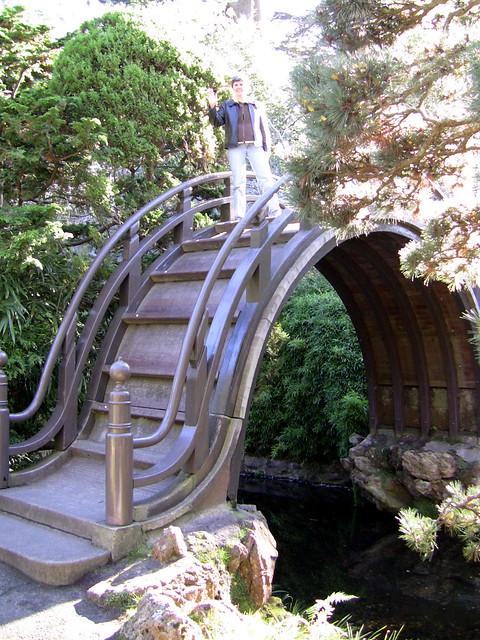 Carol on the japanese style bridge explore ginny brady 39 s for Japanese style bridge