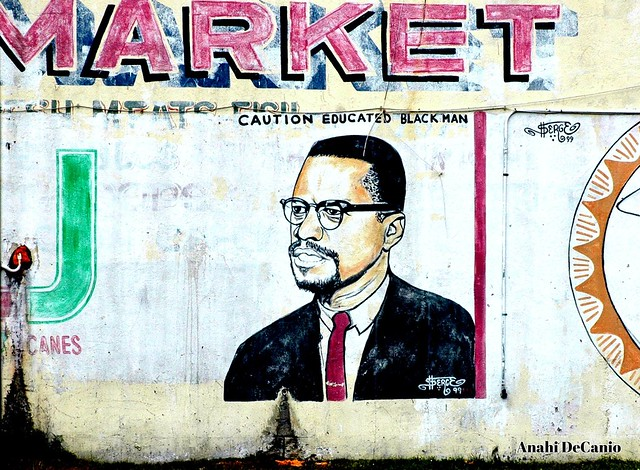 Flickriver most interesting photos tagged with for Malcolm x mural