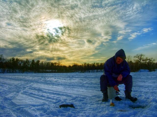 Ice fishing michigan for Ice fishing michigan