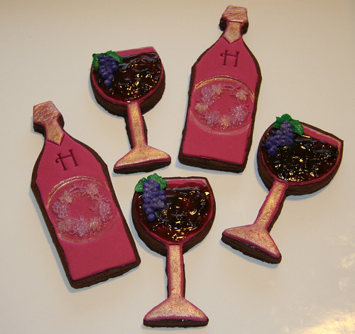 Wine bottles & glasses