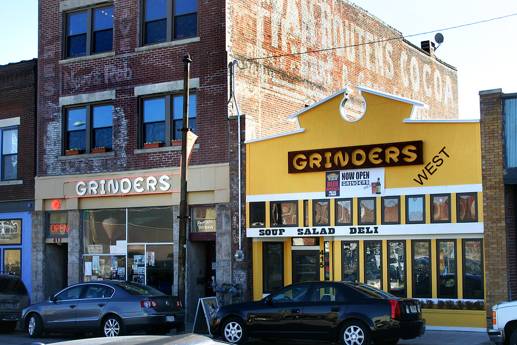 Grinders Kansas City s Grinders restaurant and their new …