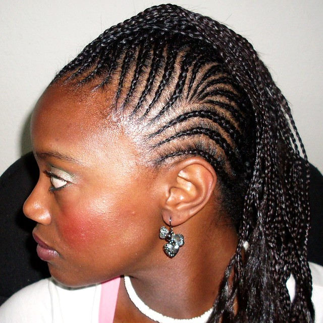 french braids with added hair mohawk ii 2