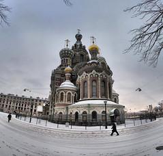 Saint-Pétersbourg - Eglise du Saint-Sauveur-sur-le-Sang-Versé - 15-02-2009 - 9h37