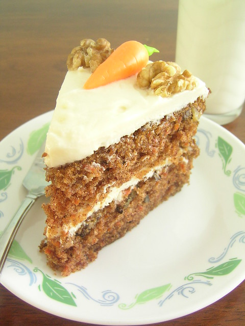 Carrot cake slice | Flickr - Photo Sharing!