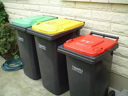 Come tenere pulito il secchio dei rifiuti