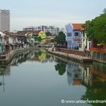 Along Melaka River - Malaysia