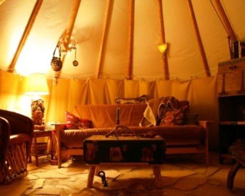 Cozy Teepee Interior Explore Coyurtco S Photos On Flickr