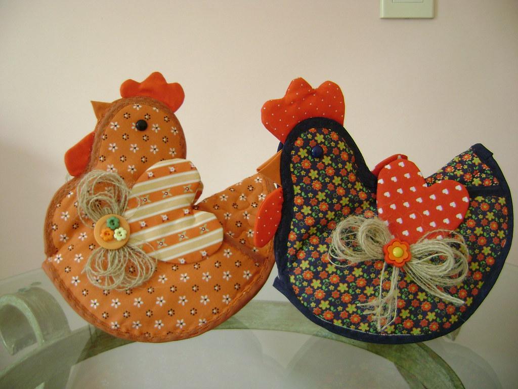 Курица своими руками поделка