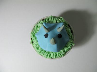 Dinosaur Volcano Birthday Cake