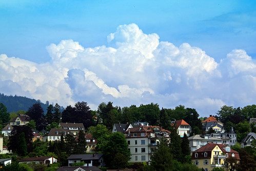 Clouds over Baden-Baden