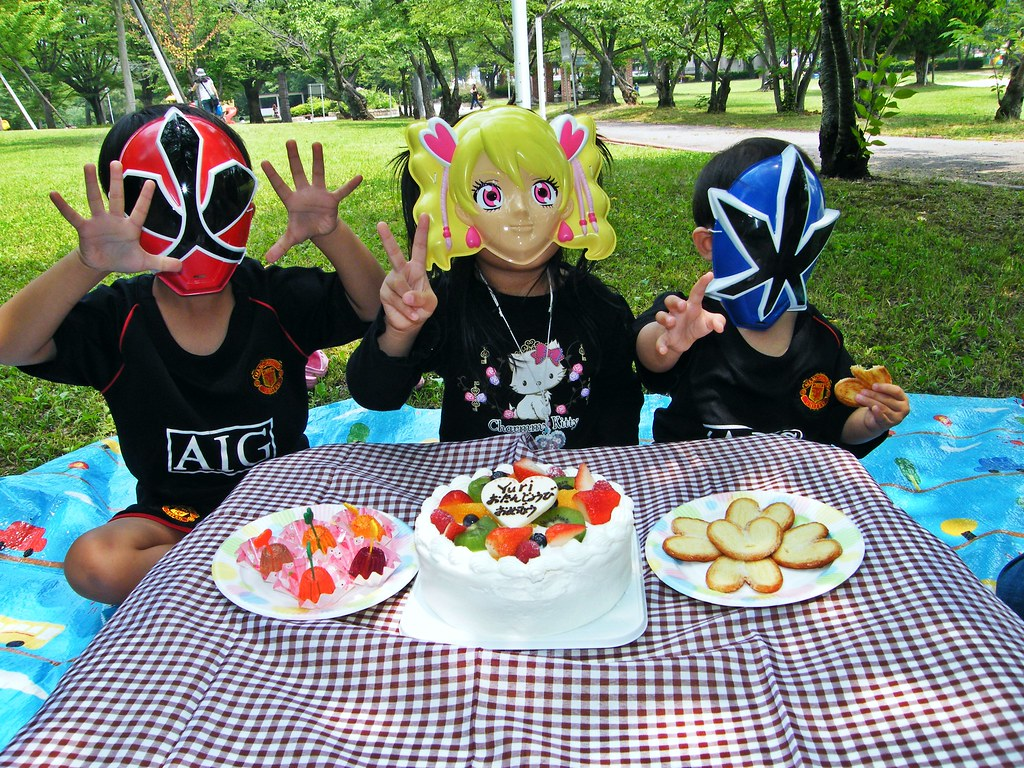 B'day party at the park