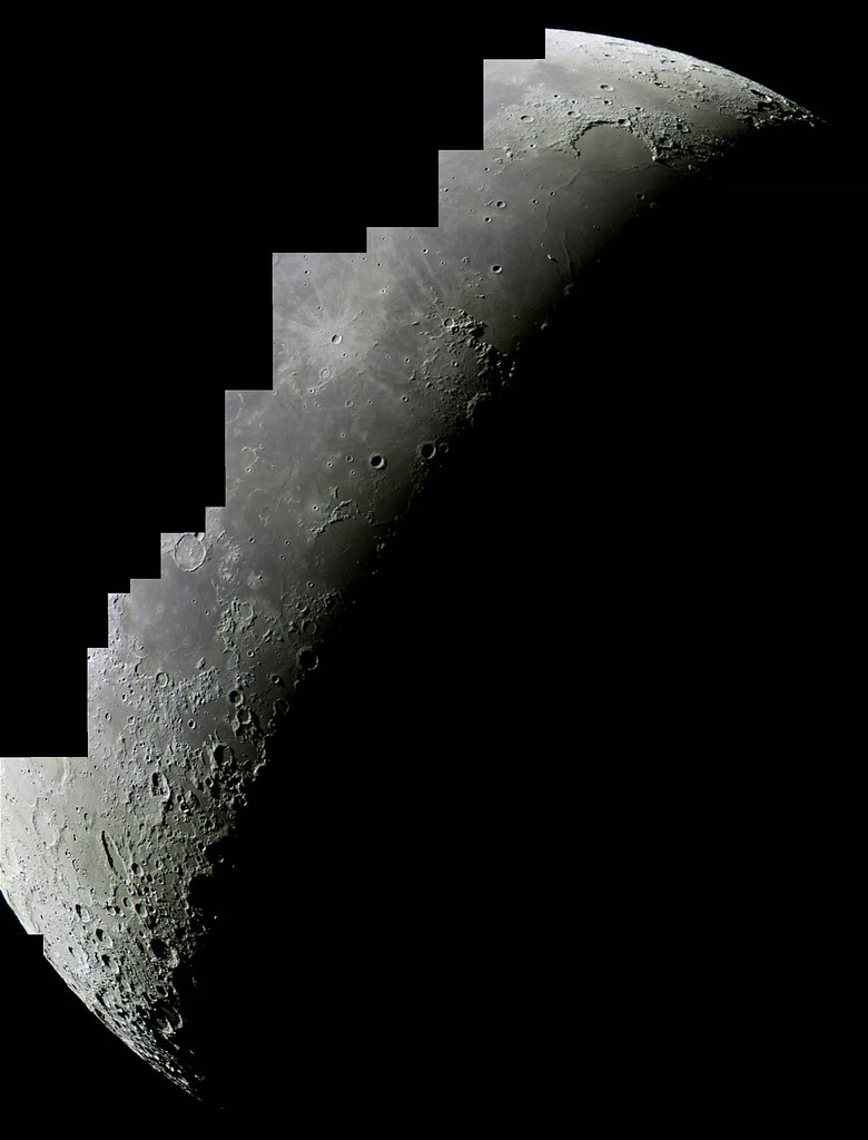 più recente più colori informazioni per First lunar mosaic   Sorry if I won't write anything poetic ...