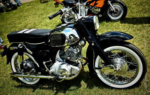 Gilmore Vintage Motorcycle Meet