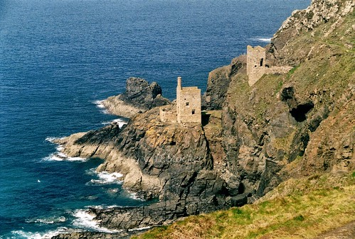 Crown Tin Mines, Pendeen, Cornwall by Stocker Images