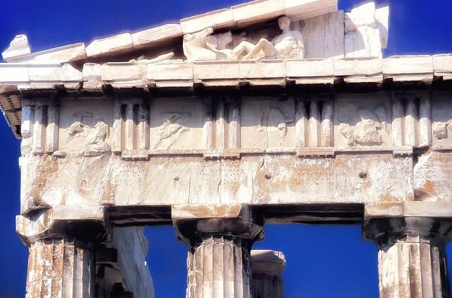 The East Pediment of the Parthenon