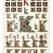 006-Letra K-Owen Jones Alphabet 1864- Copyright © 2010 Panteek.  All Rights Reserved