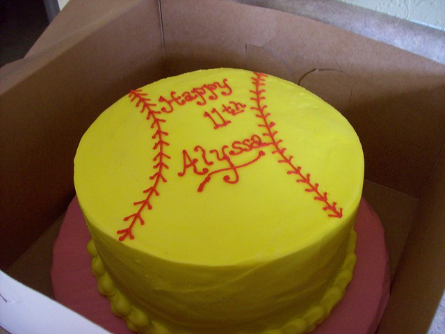 Softball Cake Explore Dmr217s Photos On Flickr Dmr217 Ha Photo Sharing