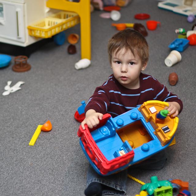 Axel au royaume des jouets