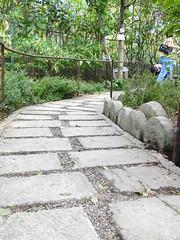 sidewalk, driveway, flagstone, cobblestone, landscaping, road surface, walkway,