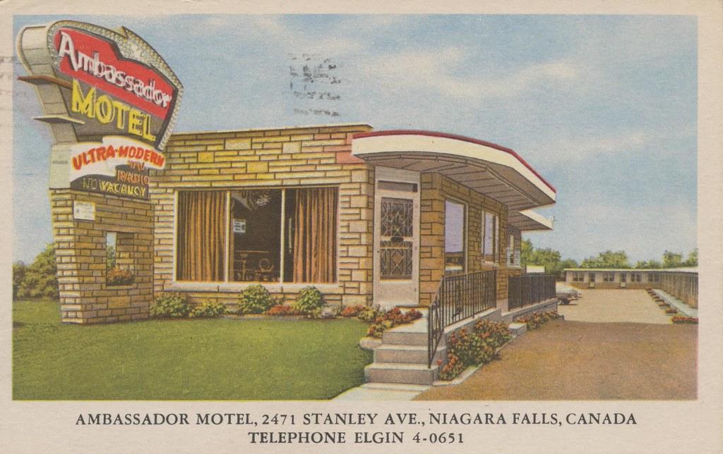 Ambassador Motel - Niagara Falls, Ontario