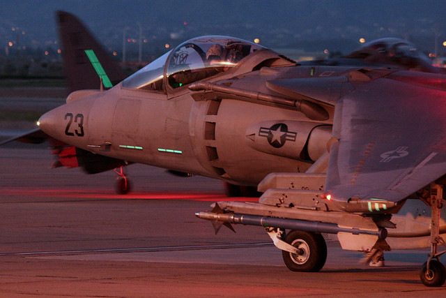 Harrier Night Ops
