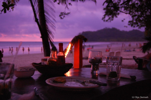 dinner costarica drinks fabulous 1001nights samara mochito romanticdinner
