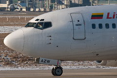 Lithuanian Airlines Boeing 737-5Q8 LY-AZW (28223)