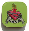 greenLOVE1 sacred heart tattoo