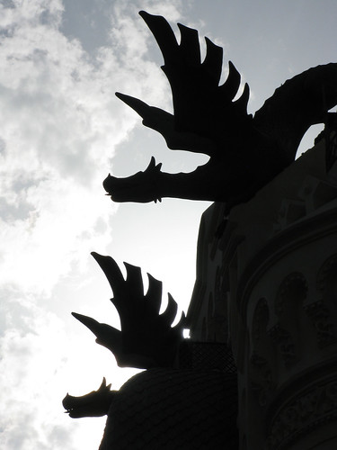 Dragones a contraluz