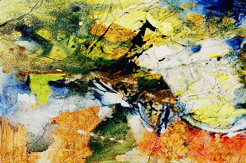 Abstract Art Mixed Media - Stream Of Unconsciousness #03