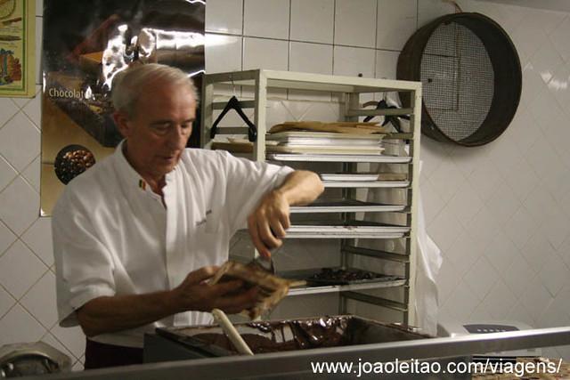 Fotografias do Museu do Chocolate em Bruxelas, Bélgica