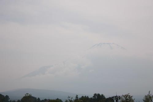 山中湖-富士山