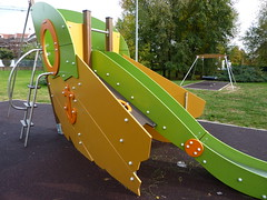 outdoor play equipment, swing, playground slide, city, public space, playground,