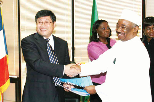 The People's Republic of China and the Federal Republic of Nigeria signed an oil agreement worth at least $23 Billion. The shift in oil policy in the West African state has created friction with Western-based oil firms that have dominated since 1956. by Pan-African News Wire File Photos
