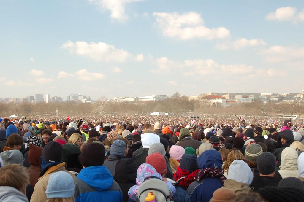 woah crowded