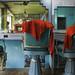 Mumbai barber shop (interior) by Kenneth Jansson