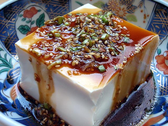 Warm Tofu with Spicy Garlic Sauce | Flickr - Photo Sharing!