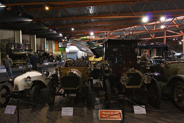 Beaulieu Cars Show